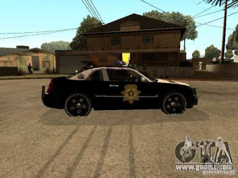 Chrysler 300C Police for GTA San Andreas left view