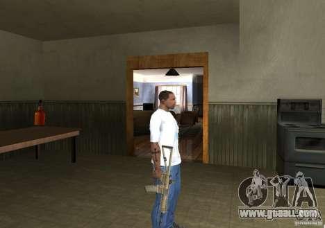 KAC PDW for GTA San Andreas forth screenshot