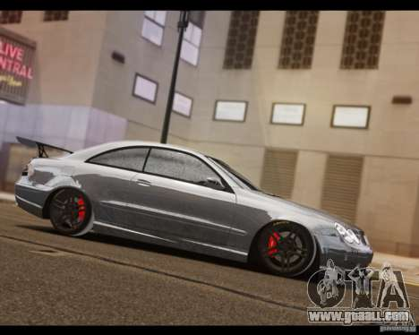 Mercedes-Benz CLK 63 AMG Black Series for GTA 4