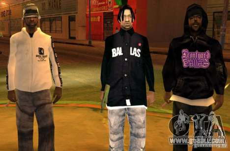 Replacement bands, tattoos, clothing, etc. for GTA San Andreas fifth screenshot