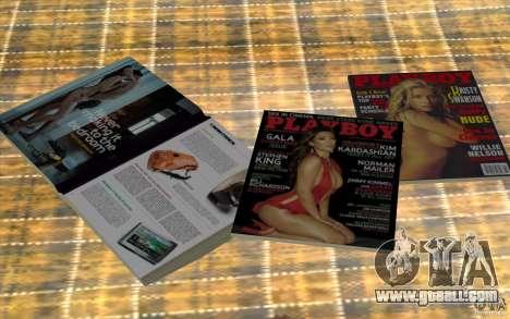 Playboy Magazines for GTA San Andreas