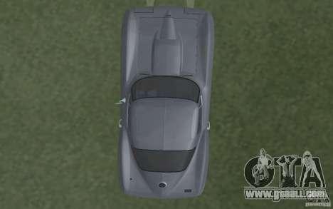 Chevrolet Corvette 427 for GTA San Andreas inner view