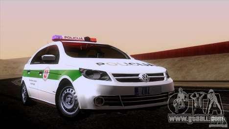 Volkswagen Voyage Policija for GTA San Andreas