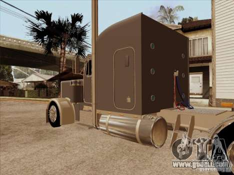 Peterbilt 379 Custom for GTA San Andreas right view