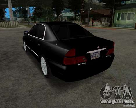 Mitsubishi Diamante for GTA San Andreas back left view