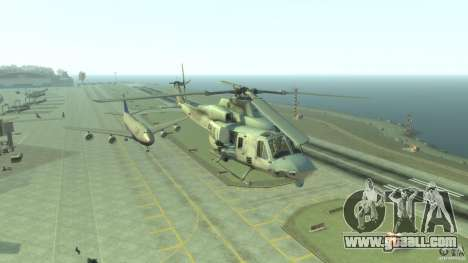 Bell UH-1Y Venom for GTA 4 back view