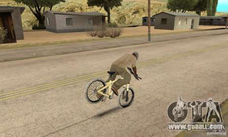 Specialized P.3 Mountain Bike v 0.8 for GTA San Andreas back view
