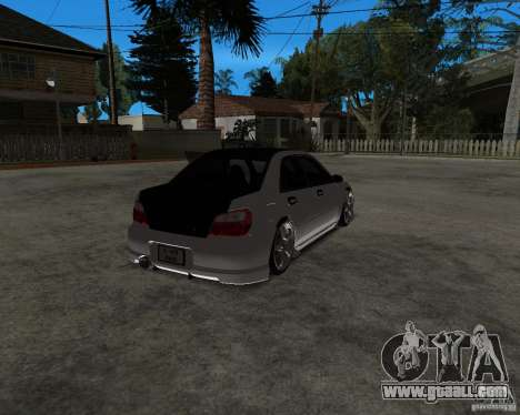 Subaru Impreza (exclusive) for GTA San Andreas left view