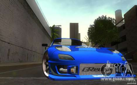 Mazda Rx7 C-West for GTA San Andreas side view