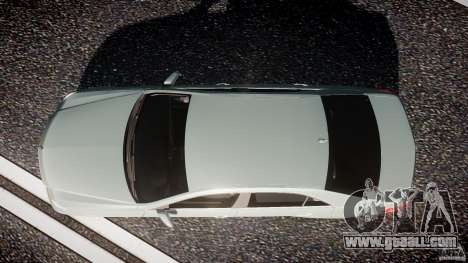 Mercedes-Benz E63 2010 AMG v.1.0 for GTA 4 right view