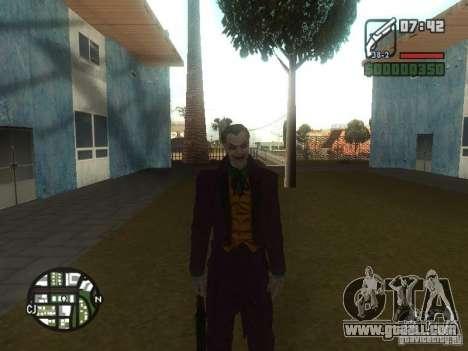 HQ Joker Skin for GTA San Andreas forth screenshot