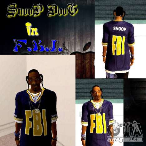 Snoop DoG the F.B.I. for GTA San Andreas