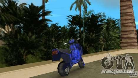 Aprilla SR 50 Racing for GTA Vice City back left view