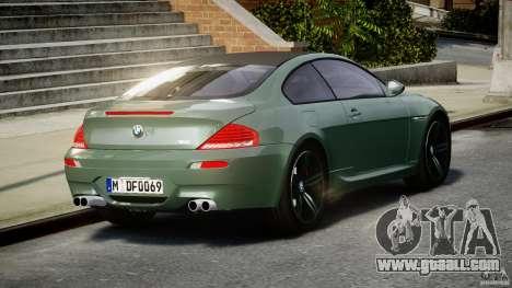 BMW M6 2010 v1.5 for GTA 4
