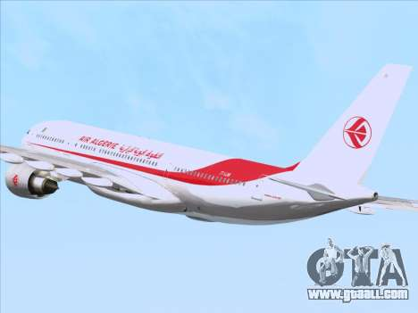 Airbus A330-203 Air Algerie for GTA San Andreas bottom view