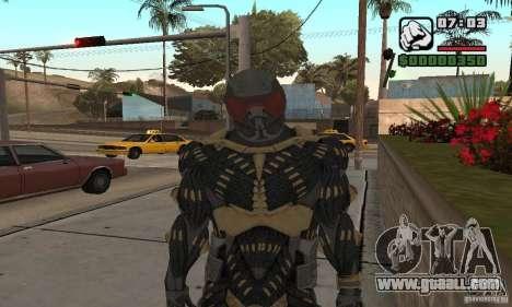 Crysis skin for GTA San Andreas