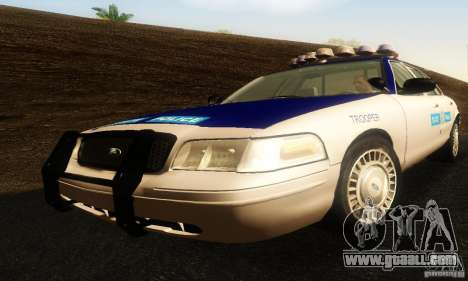 Ford Crown Victoria Virginia Police for GTA San Andreas