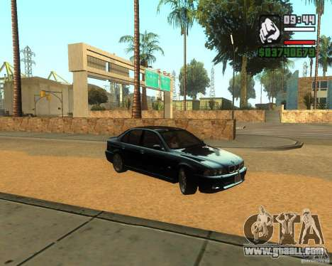 BMW M5 E39 2003 for GTA San Andreas left view