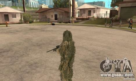 Skin sniper for GTA San Andreas sixth screenshot