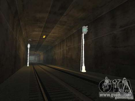 Railway traffic lights 2 for GTA San Andreas forth screenshot