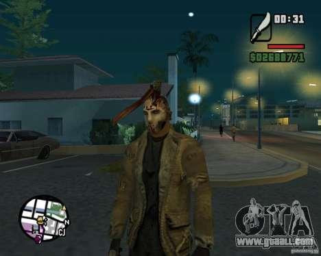 Jason Voorhees for GTA San Andreas