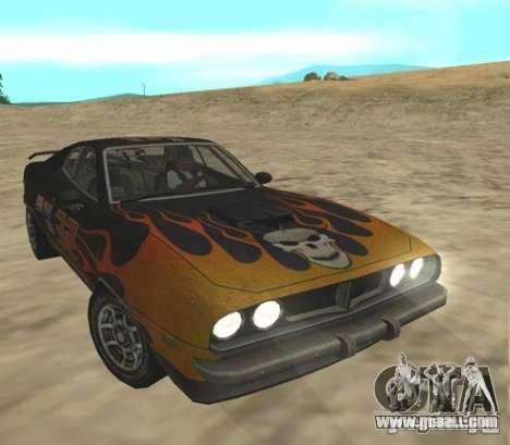 Bullet from FlatOut 2 for GTA San Andreas