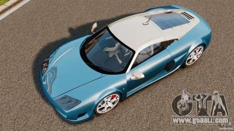 Noble M600 Bicolore 2010 for GTA 4 right view