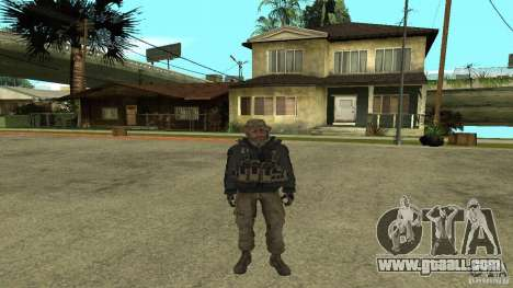 Captain Price for GTA San Andreas