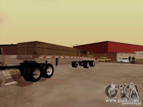 Trailer Artict1 for GTA San Andreas
