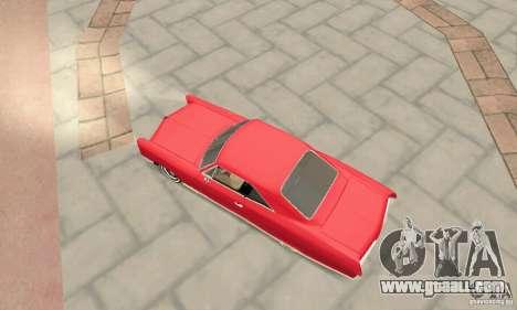 Pontiac Bonneville 1966 for GTA San Andreas back left view