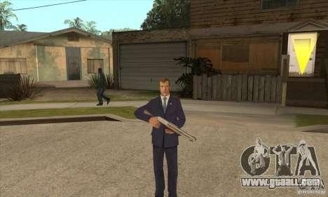 Dmitry Anatolyevich Medvedev for GTA San Andreas third screenshot