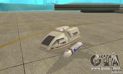 Shuttle-NCC-74656 for GTA San Andreas