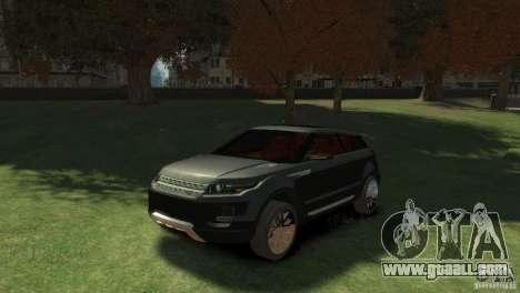 Land Rover Rang Rover LRX Concept for GTA 4