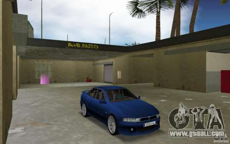 Mitsubishi Galant for GTA Vice City back view