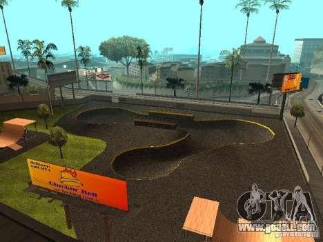 New SkatePark for GTA San Andreas