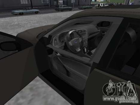 Saab 9-3 Turbo X for GTA San Andreas back left view
