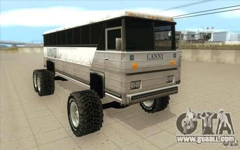 Bus monster [Beta] for GTA San Andreas