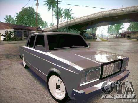 VAZ 2107 Criminal for GTA San Andreas right view