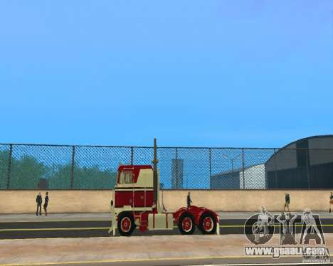 Kenworth K100 for GTA San Andreas left view