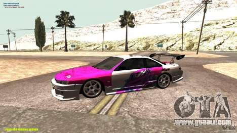 Nissan Silvia S14 kuoki RDS for GTA San Andreas left view