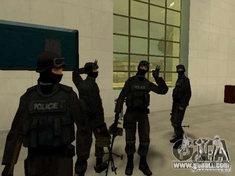 Help Swat for GTA San Andreas second screenshot