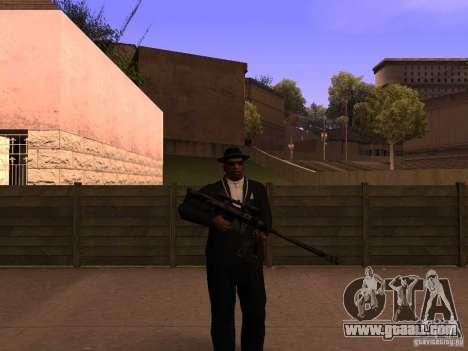 M95 Barrett Sniper for GTA San Andreas second screenshot