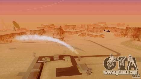 Heat traps for Hunter for GTA San Andreas third screenshot