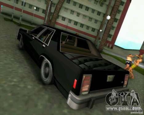 Ford Crown Victora LTD 1985 for GTA Vice City right view