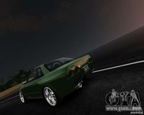 Nissan Skyline R32 GTS-t Veilside for GTA 4 left view