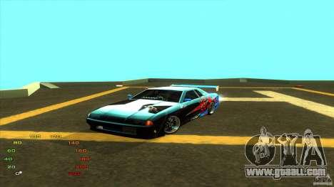 Pack vinyl for Elegy for GTA San Andreas eighth screenshot