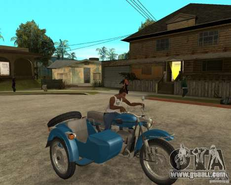 Ural Tourist sidecar for GTA San Andreas right view