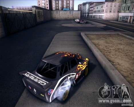 Trabant drag for GTA San Andreas back left view