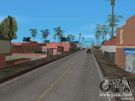 New Groove Street for GTA San Andreas sixth screenshot