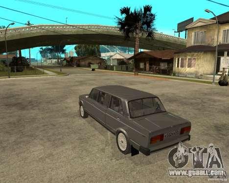 VAZ 2105 Limousine for GTA San Andreas left view